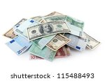 Pile Of Soft Money  Dollars An...