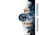 retro style hypnotic background.... | Shutterstock . vector #115558843