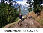 pahalgam india april 16... | Shutterstock . vector #115657477
