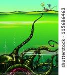 Survivor And Monster Octopus