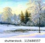 Beautiful Winter Landscape ...