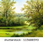 Beautiful Summer Landscape ...