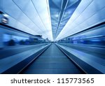 Airport Elevator - stock photo