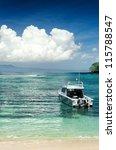 tropical beach. padangbai  bali ... | Shutterstock . vector #115788547