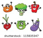illustration of various... | Shutterstock . vector #115835347