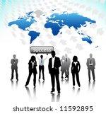business people | Shutterstock .eps vector #11592895