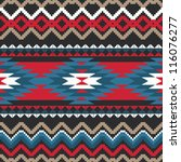 folk ornamental textile... | Shutterstock .eps vector #116076277
