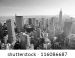 new york city  ny   jan 17 ... | Shutterstock . vector #116086687