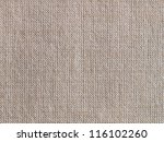 A texture of natural brown linen cloth - stock photo