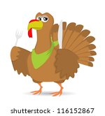 thanksgiving turkey | Shutterstock .eps vector #116152867