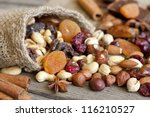 Nuts And Dried Fruits Mix