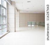 empty corridor in the modern... | Shutterstock . vector #116287663