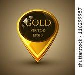 glossy glass shiny bubble... | Shutterstock .eps vector #116299957