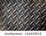 gray diamond cut metal | Shutterstock . vector #116310913