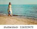 luxurious beautiful fashionable ... | Shutterstock . vector #116315473