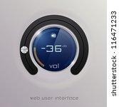 web user interface design... | Shutterstock .eps vector #116471233