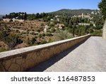 ein karem village in jerusalem...   Shutterstock . vector #116487853