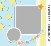 Cute Template For Baby's...