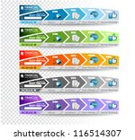 collection of web elements ... | Shutterstock .eps vector #116514307