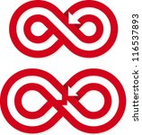 infinite loops | Shutterstock .eps vector #116537893