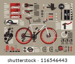 bicycle info graphics,