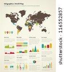 set elements of infographics.... | Shutterstock .eps vector #116552857