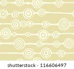 seamless circles background   Shutterstock .eps vector #116606497
