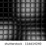 black tile surface background - stock photo