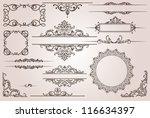 design elements   Shutterstock .eps vector #116634397