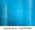 hi tech abstract geometric... | Shutterstock .eps vector #116705983