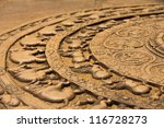 a ground carving at the... | Shutterstock . vector #116728273