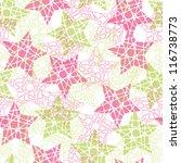 abstract geometric vector... | Shutterstock .eps vector #116738773