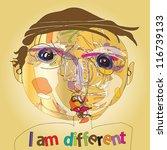 colorful imaginative kid...   Shutterstock . vector #116739133