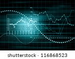 business graph with arrow...   Shutterstock . vector #116868523