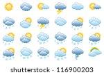 meteorology icons set  vector...