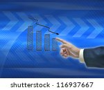 illustration of business hand... | Shutterstock . vector #116937667