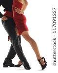 Two Elegance Tango Dancers....
