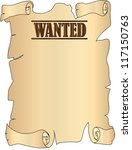wanted | Shutterstock . vector #117150763