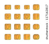 sim card set | Shutterstock .eps vector #117162817