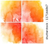 abstract colorful water color...   Shutterstock . vector #117166867