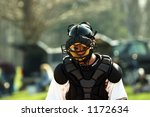 catcher photographed during... | Shutterstock . vector #1172634