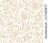 vector illustration of seamless ... | Shutterstock .eps vector #117285877