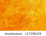 grunge cement yellow | Shutterstock . vector #117298153