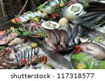 The Seafood In Fish Market ...