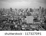 Bangkok city view - stock photo