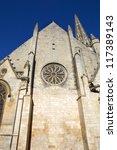 niort ancient gothic church ... | Shutterstock . vector #117389143