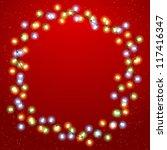 eps 10 christmas background... | Shutterstock .eps vector #117416347