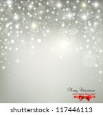 elegant christmas background... | Shutterstock .eps vector #117446113