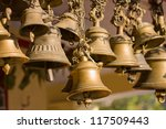 Bells Of The Old Temple In...