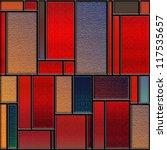 Seamless Square Colorful...